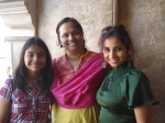 Daughter Janice, Archana and niece Esther